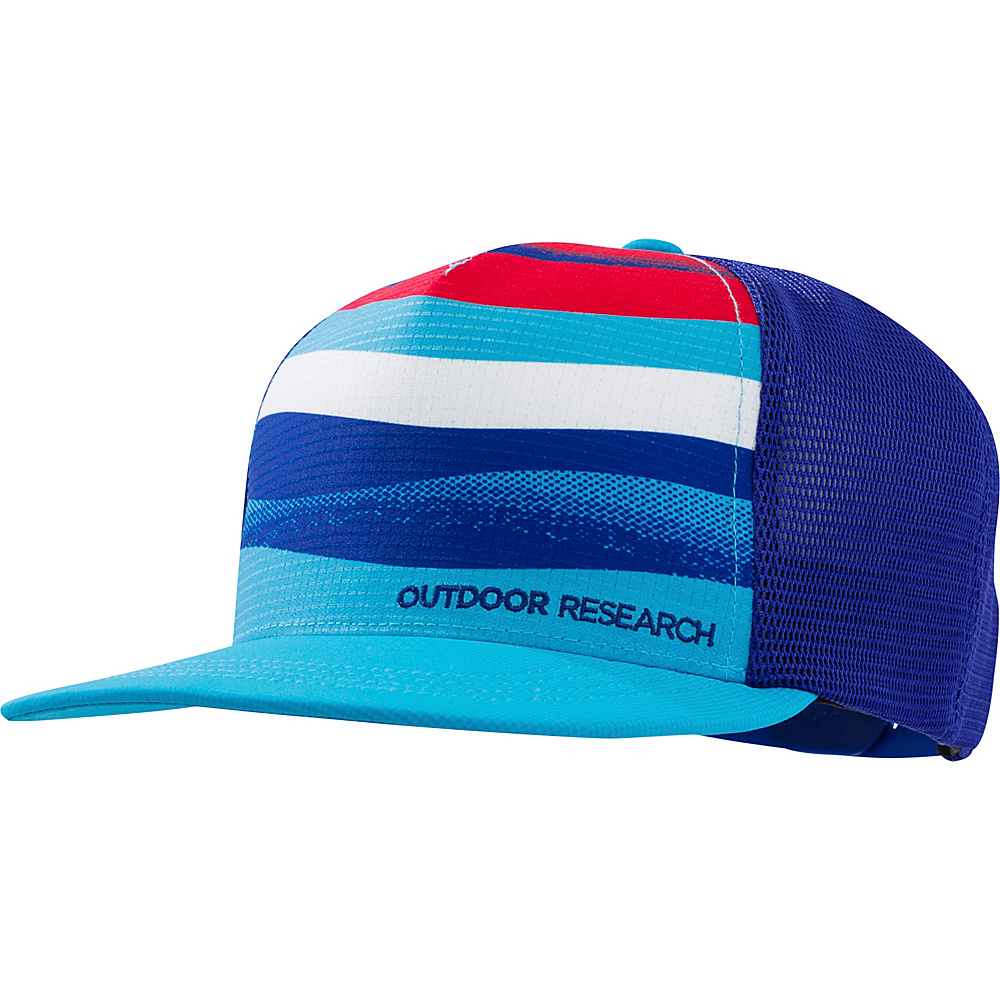 Outdoor Research Performance Trucker  Paddle One Size - Typhoon - Outdoor Research Hats/Gloves/Scarves - Fashion Accessories, Hats/Gloves/Scarves