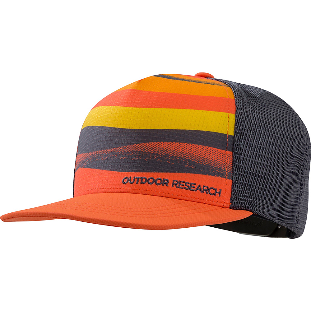 Outdoor Research Performance Trucker  Paddle One Size - Ember - Outdoor Research Hats/Gloves/Scarves - Fashion Accessories, Hats/Gloves/Scarves