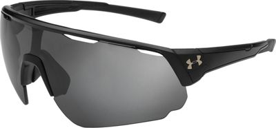 Under Armour Eyewear Changeup Sunglasses Storm Satin Black/Black Frame/Graphite Polar Lens - Under Armour Eyewear Sunglasses