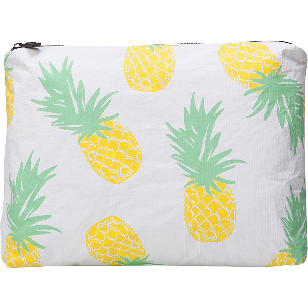 Image of ALOHA Collection Medium Wet/Dry Pouch- Pineapple Express Pineapple Express Yellow - ALOHA Collection Packable Bags
