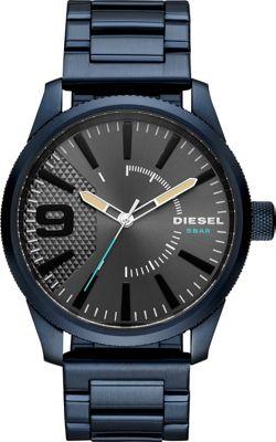 Diesel Watches Men's Rasp NSBB Three-Hand Blue Stainless ...