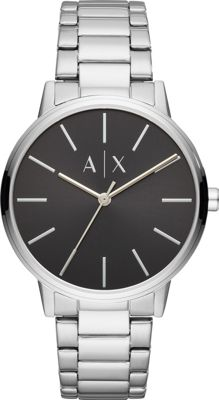 A/X Armani Exchange Men's Three-Hand Stainless Steel Watc...