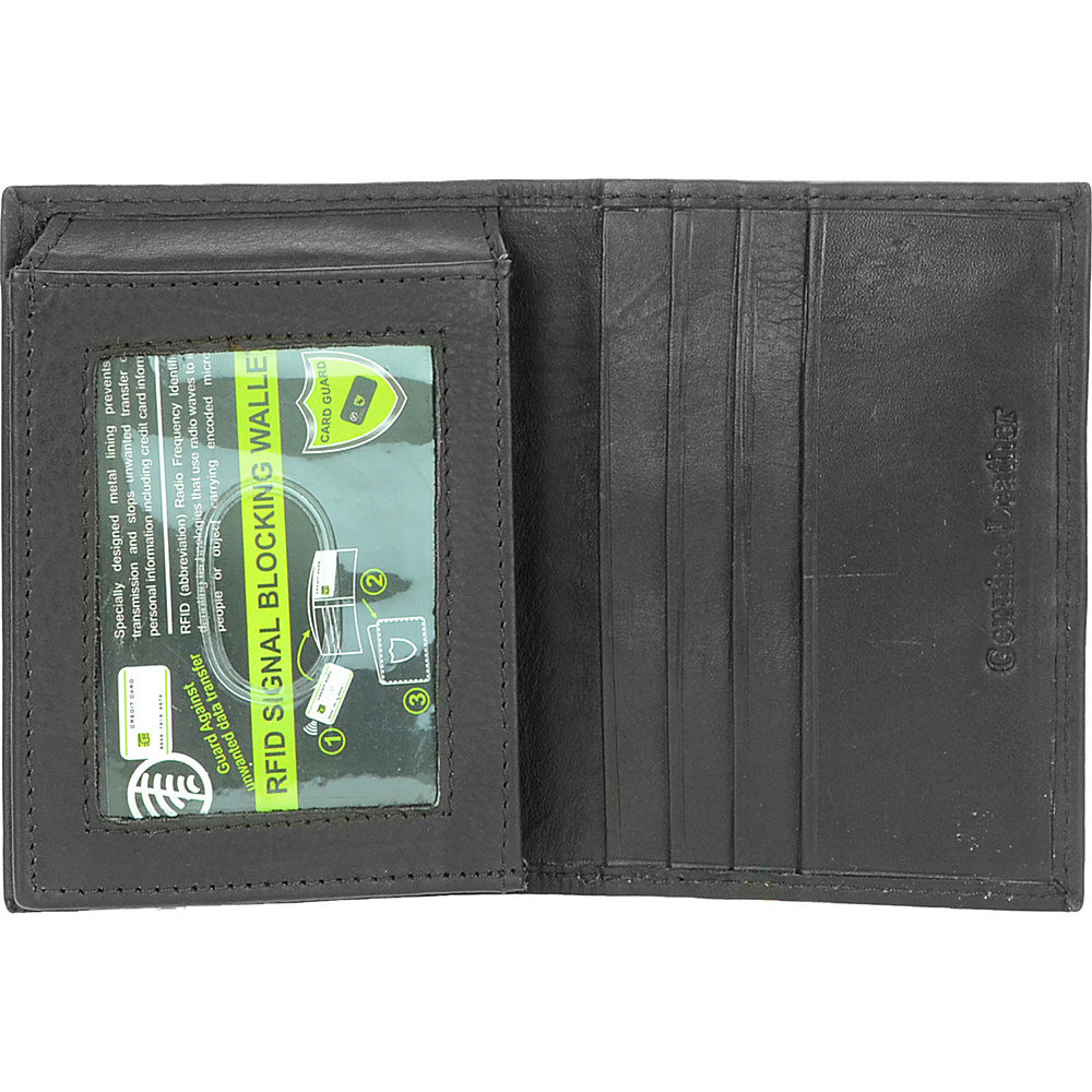 R /& R Collections RFID L-Fold Wallet with Three Tip Men/'s Wallet NEW