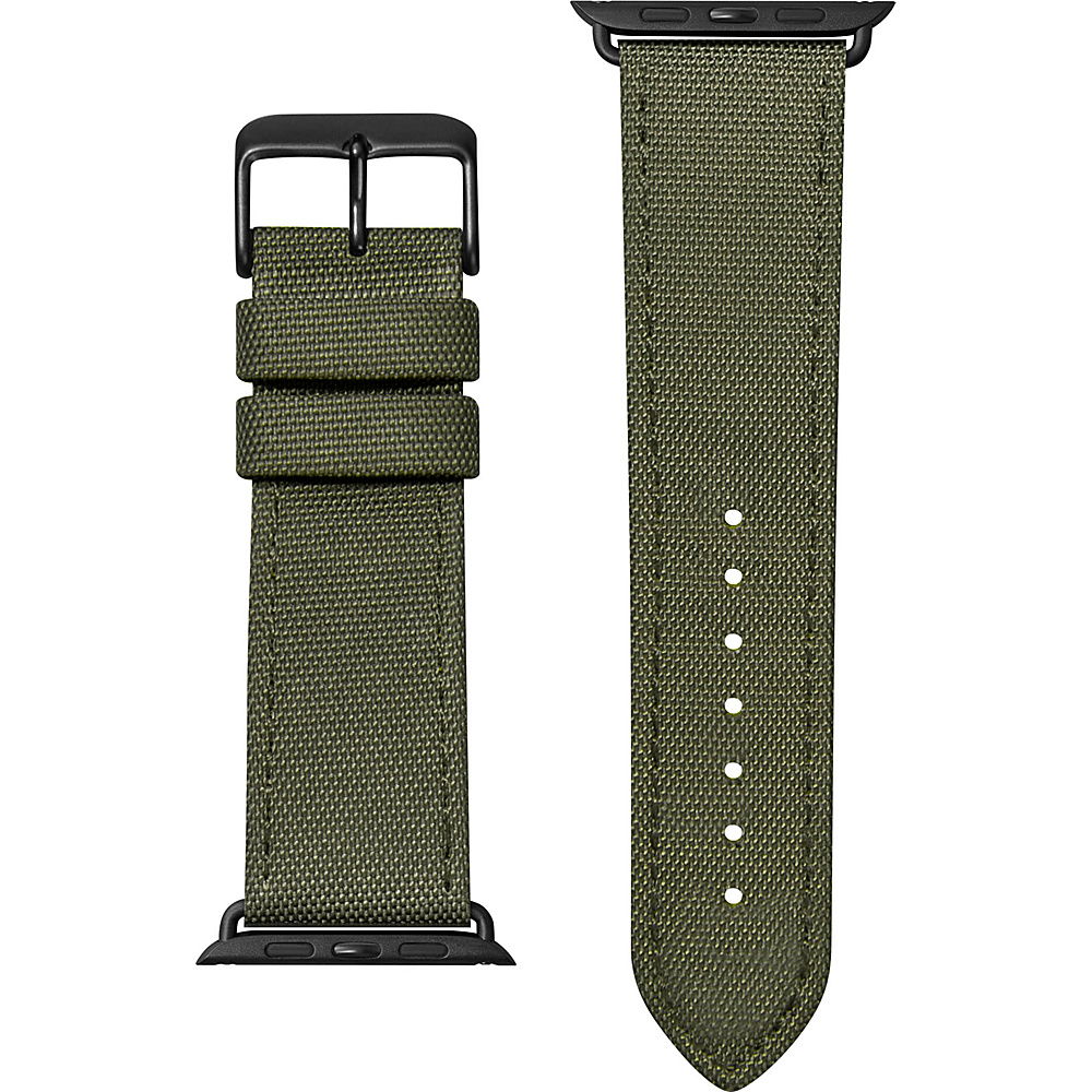 LAUT Technical Watch Strap – 42/44mm Military Green – LAUT Wearable Technology