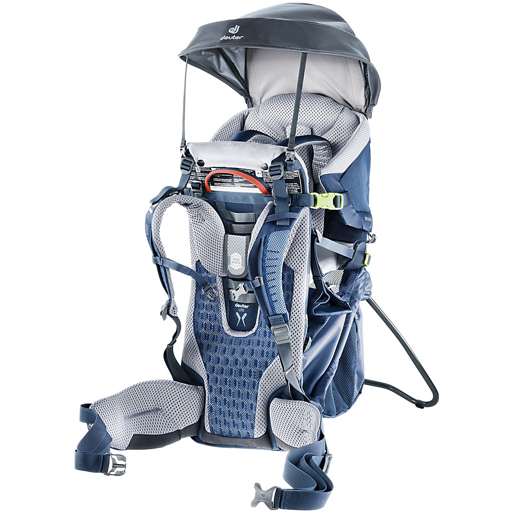 Deuter Kid Comfort Sun Roof Graphite - Deuter Baby Carriers Kid Comfort Sun Roof Graphite. The flexible and durable sun roof protects the child from UV-rays and provides pleasant shade.