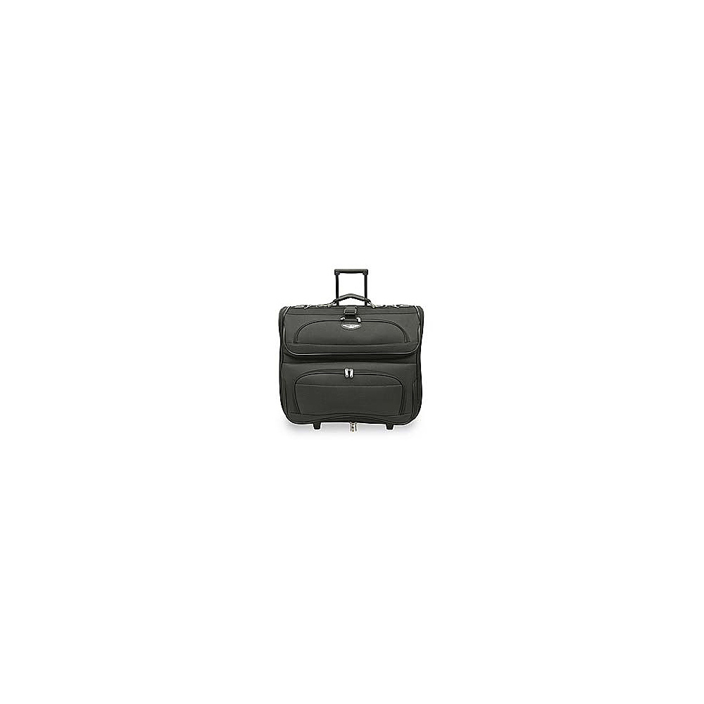 Traveler's Choice Amsterdam Rolling Garment Bag - Gray