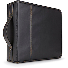 208 Capacity CD Wallet Black Koskin