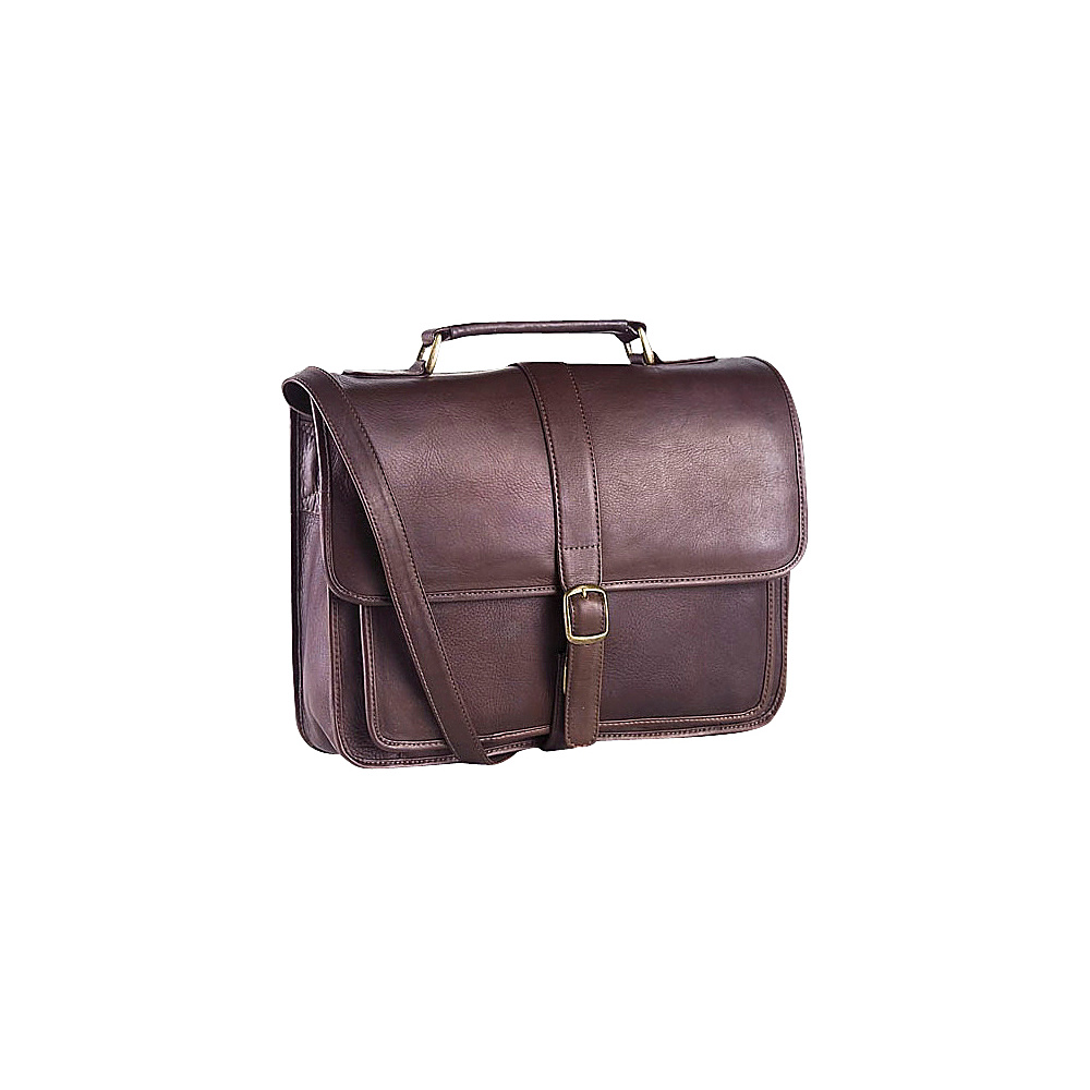 Clava Vachetta Leather School Bag - Vachetta Cafe - Work Bags & Briefcases, Non-Wheeled Business Cases