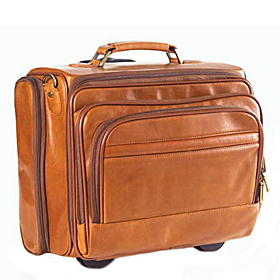 Tuscan Leather Business Class Compuroller Tuscan Tan