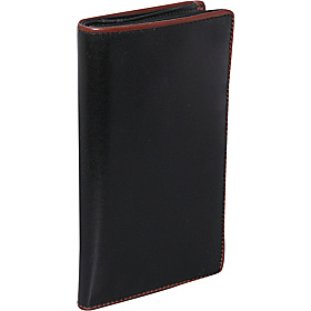 Men's Breast Pocket Wallet Black/Brown