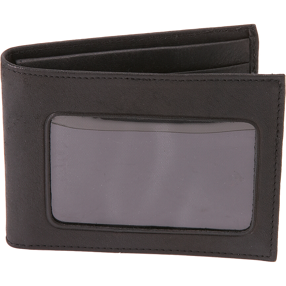 Buxton Credit Card ID Billfold - Black - Work Bags & Briefcases, Men's Wallets