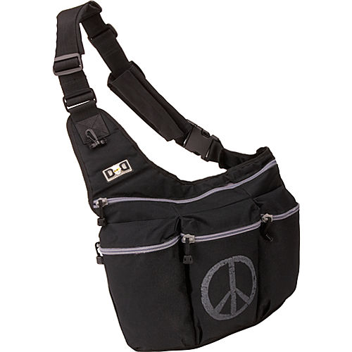 Black With Peace Sign - $70.00