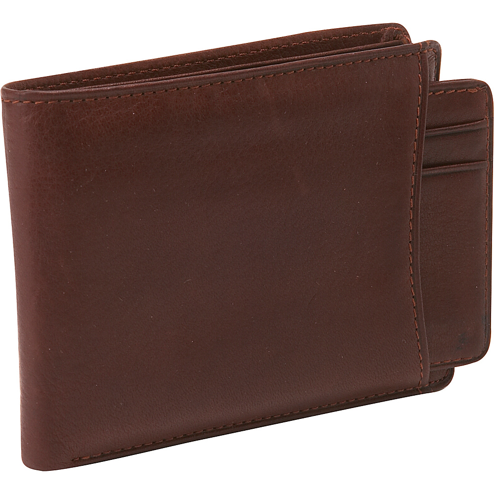 Osgoode Marley Cashmere Convertible Billfold - Brandy - Work Bags & Briefcases, Men's Wallets