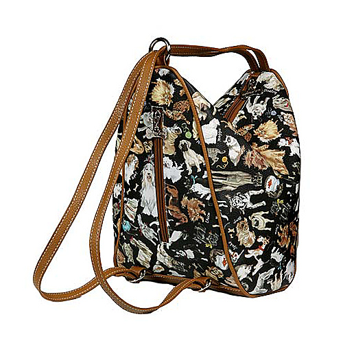 Sydney Love Cats & Dogs Backpack - Backpack Handbags