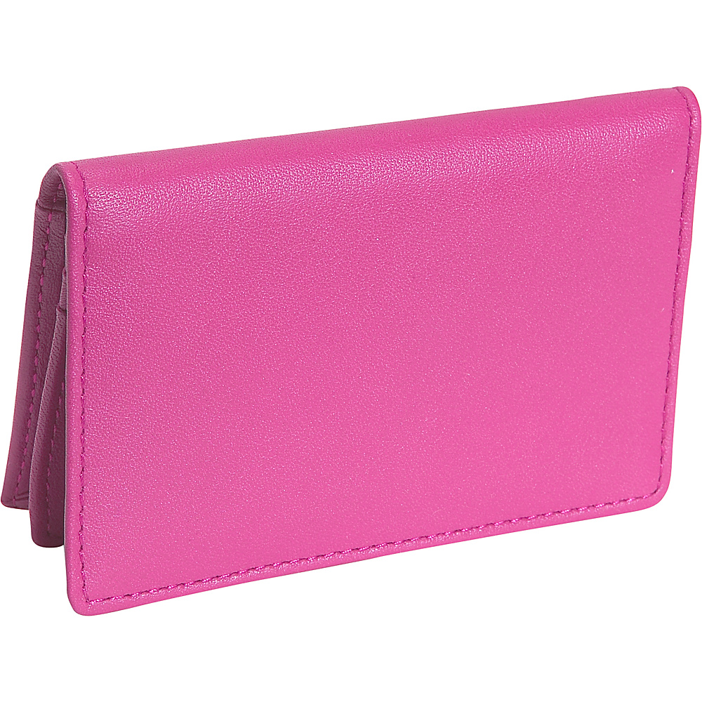 Royce Leather Deluxe Card Holder - Wild Berry - Work Bags & Briefcases, Business Accessories