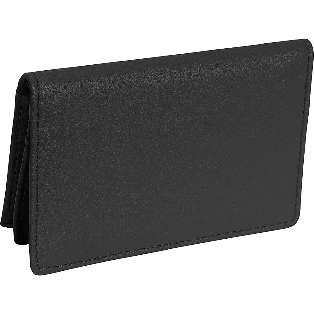 Royce Leather Deluxe Card Holder - Black - Work Bags & Briefcases, Business Accessories