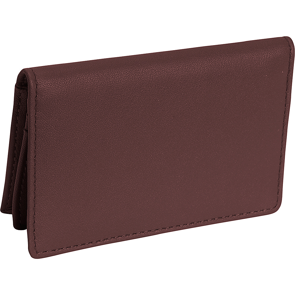 Royce Leather Deluxe Card Holder - Coco - Work Bags & Briefcases, Business Accessories