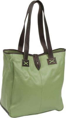 Clava Oversized Tote - Pastel - Green w/cafe