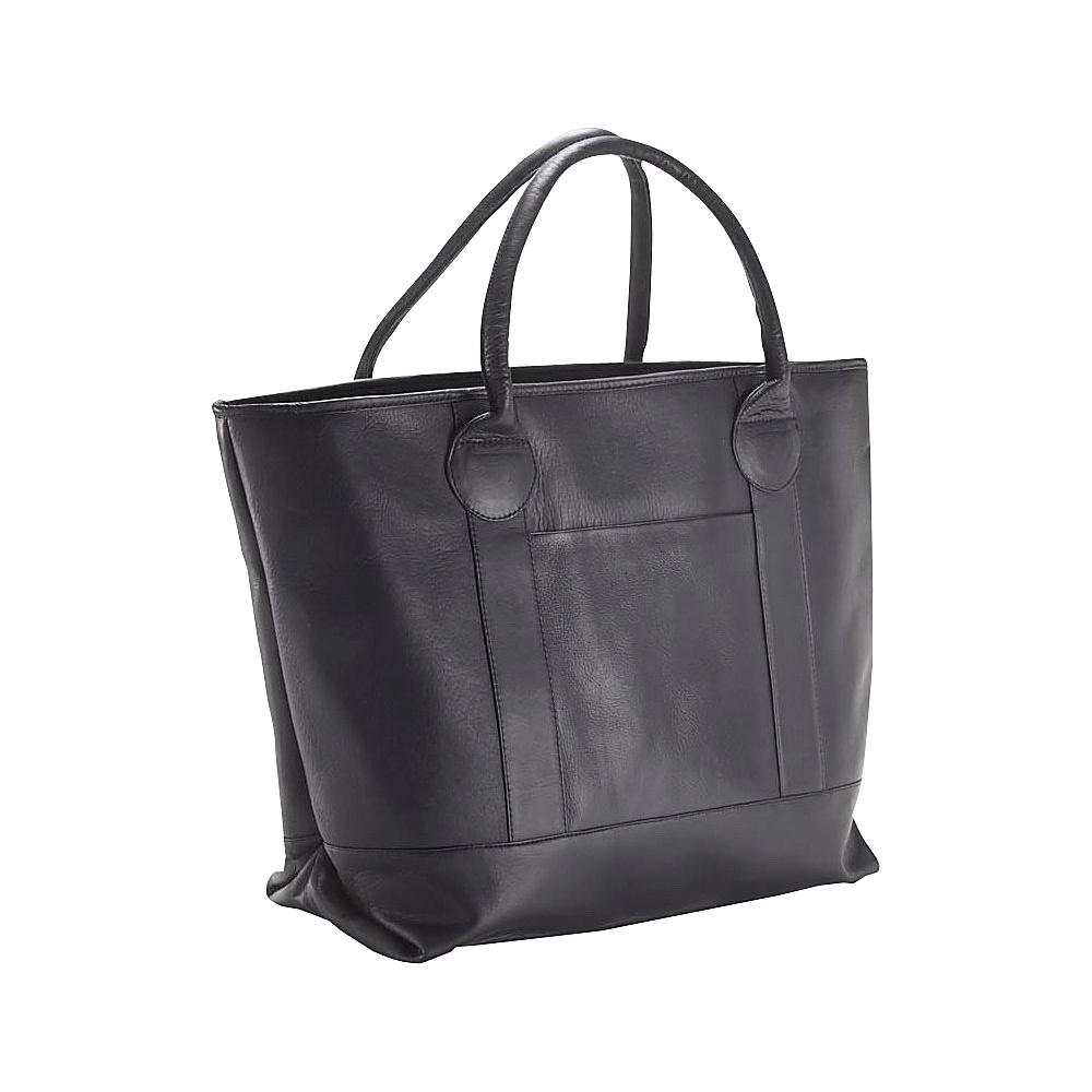 Clava Nantucket Tote Vachetta Black - Clava Leather Handbags - Handbags, Leather Handbags