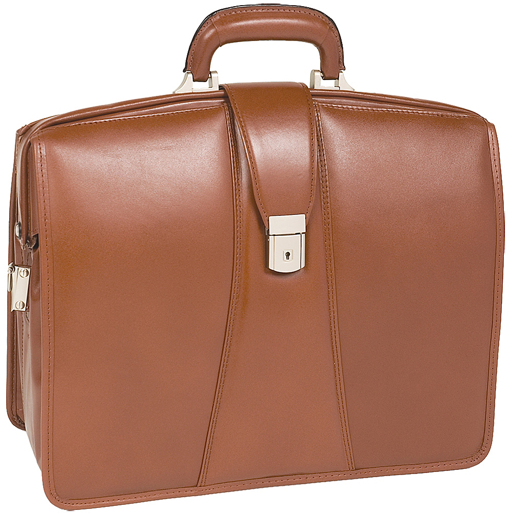 McKlein USA Harrison Leather 17 Laptop Partners Brief - Work Bags & Briefcases, Non-Wheeled Business Cases