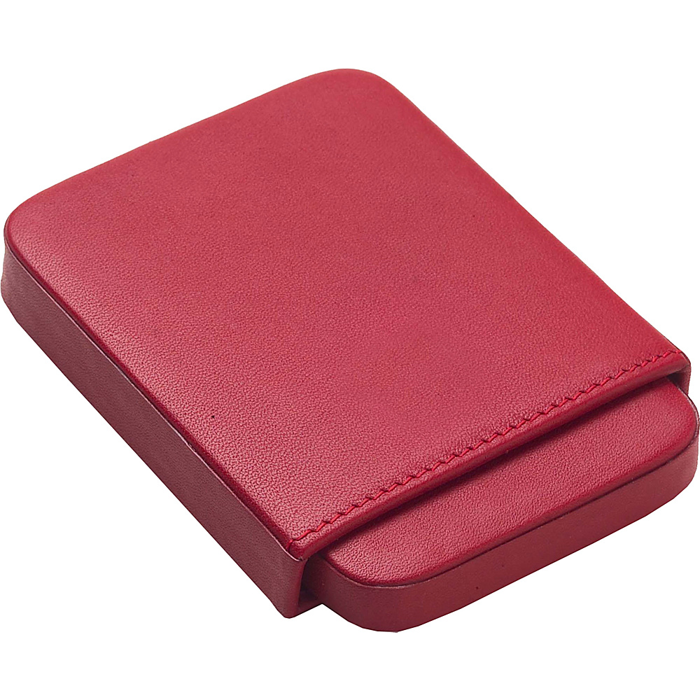 Clava Slide Business Card Holder - Bridle Red