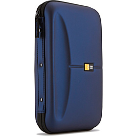 72 Capacity Heavy Duty CD Wallet Blue