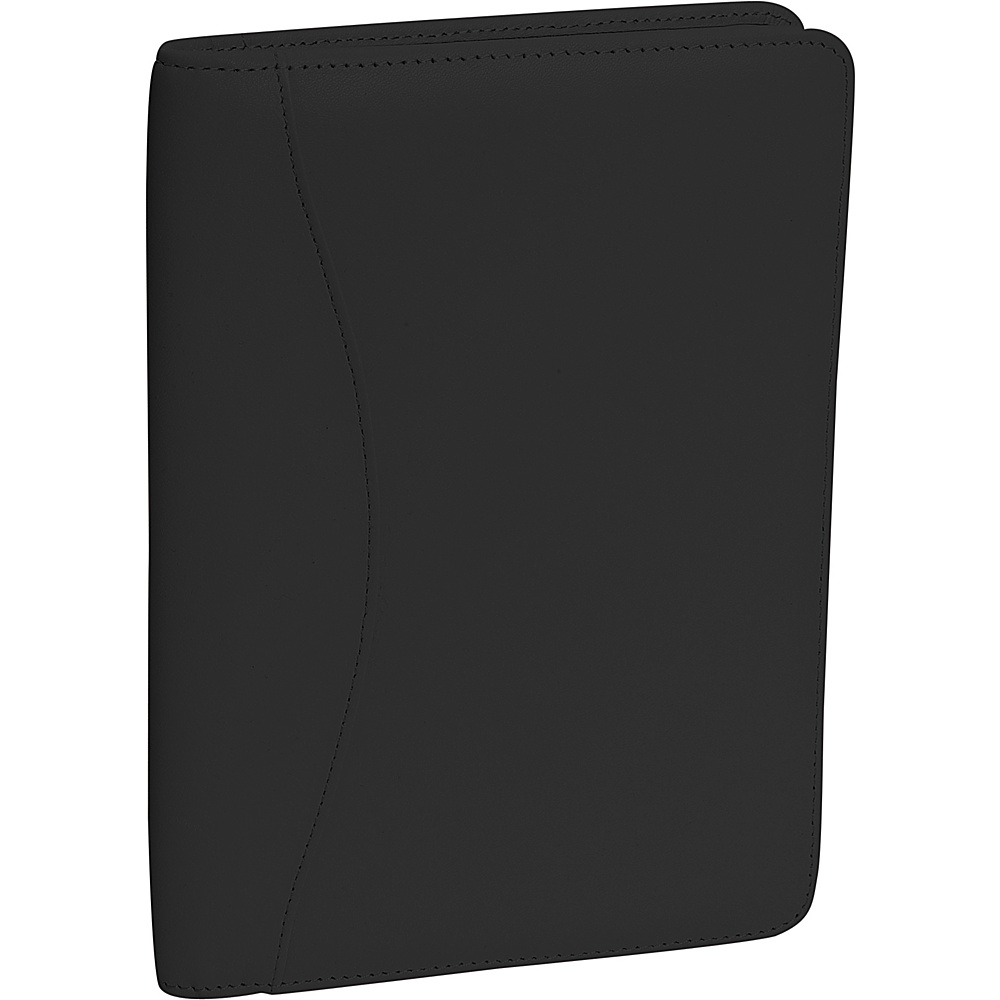 Royce Leather Jr. Writing Padfolio - Black - Work Bags & Briefcases, Business Accessories