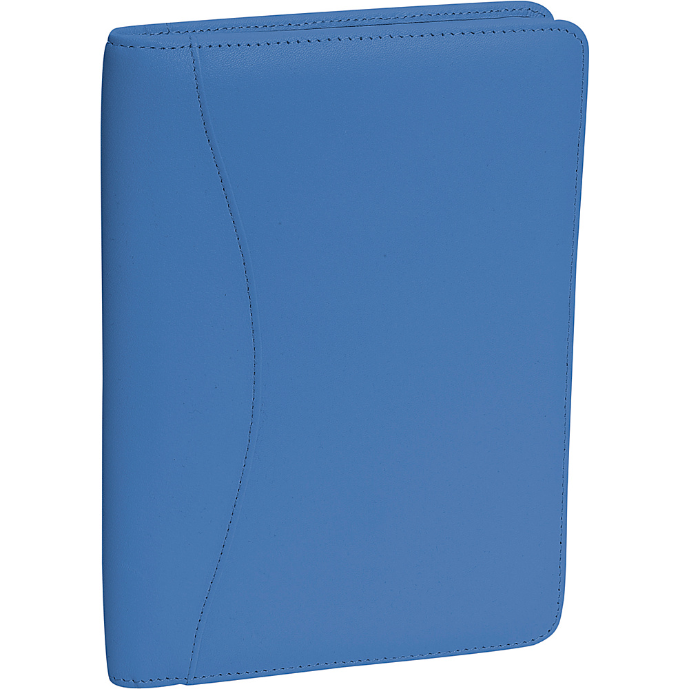 Royce Leather Jr. Writing Padfolio - Royce Blue - Work Bags & Briefcases, Business Accessories