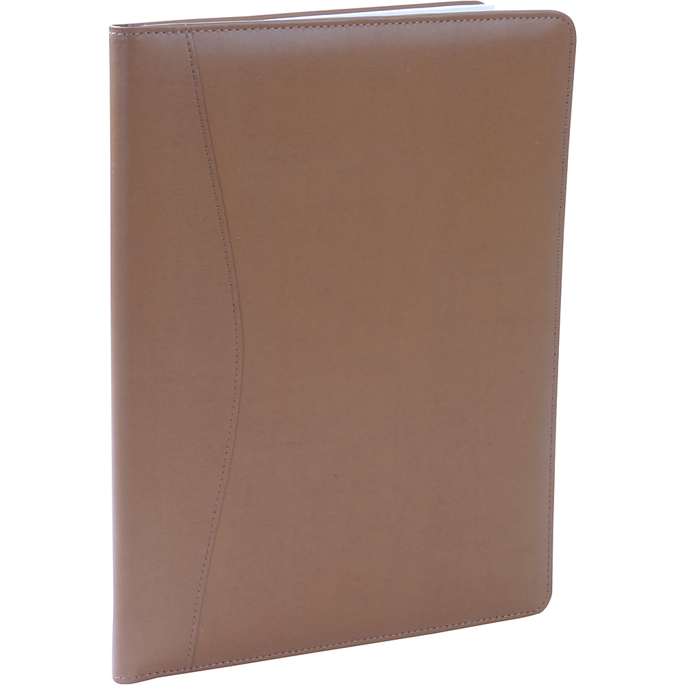 Royce Leather Padfolio - Tan - Work Bags & Briefcases, Business Accessories