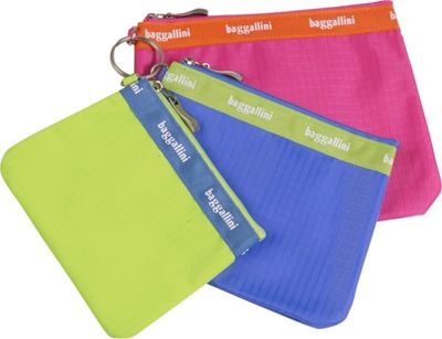 baggallini Trio Baggs Rip Stop Nylon - Assorted Colors