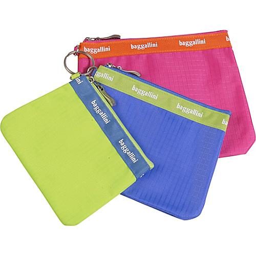 baggallini Trio Baggs Rip Stop Nylon - Assorted Colors