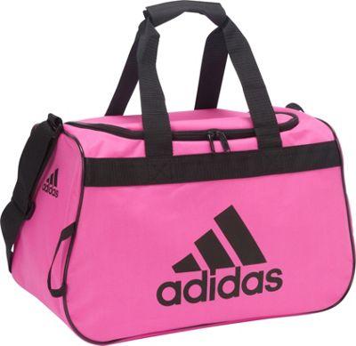 adidas Diablo Duffel Small Intense Pink/Black - adidas Gym Duffels
