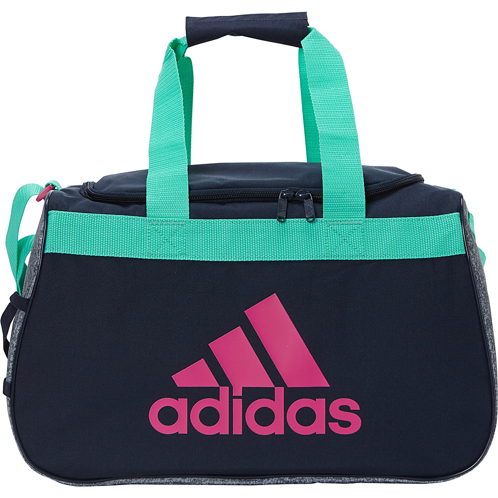 adidas Diablo Duffel Small Collegiate Navy Onix Jersey Hi - Res Green Bahia aac69d1bf3