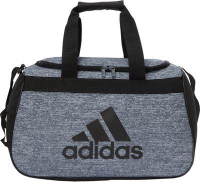 adidas Diablo Duffel Small Onix Jersey/Black - adidas Gym Duffels