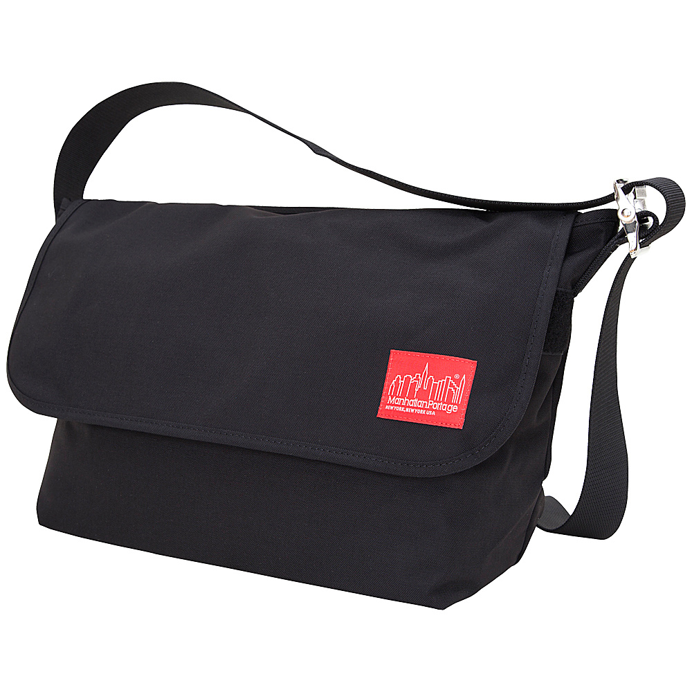 Manhattan Portage Vintage Messenger Bag - Large - Black - Work Bags & Briefcases, Messenger Bags