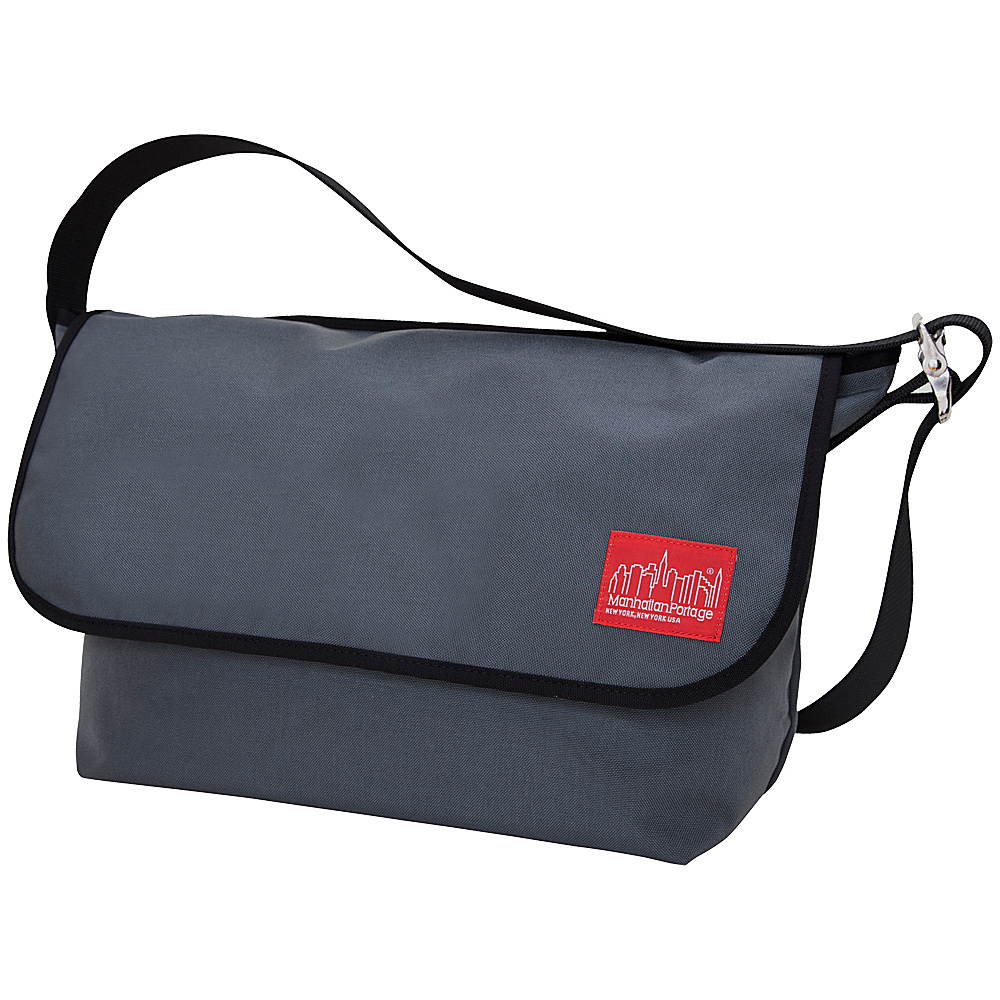Manhattan Portage Vintage Messenger Bag - Large Gray - Manhattan Portage Messenger Bags - Work Bags & Briefcases, Messenger Bags