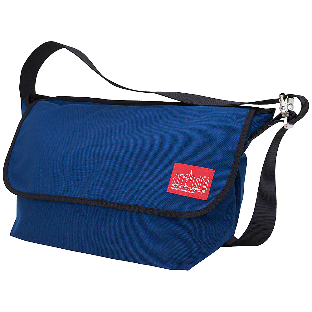 Manhattan Portage Vintage Messenger Bag - Large Navy - Manhattan Portage Messenger Bags - Work Bags & Briefcases, Messenger Bags