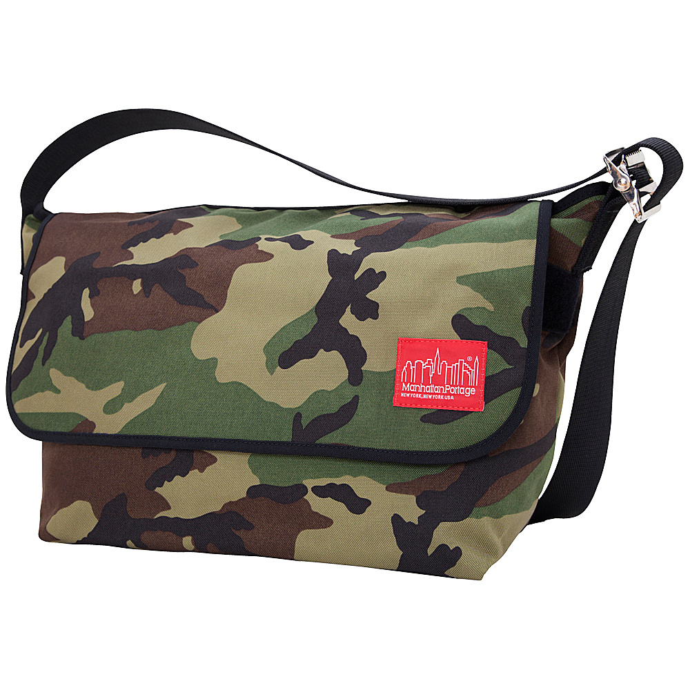 Manhattan Portage Vintage Messenger Bag - Large - Camo - Work Bags & Briefcases, Messenger Bags