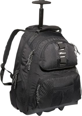 Targus 15.4 inch Rolling Notebook Backpack - Black