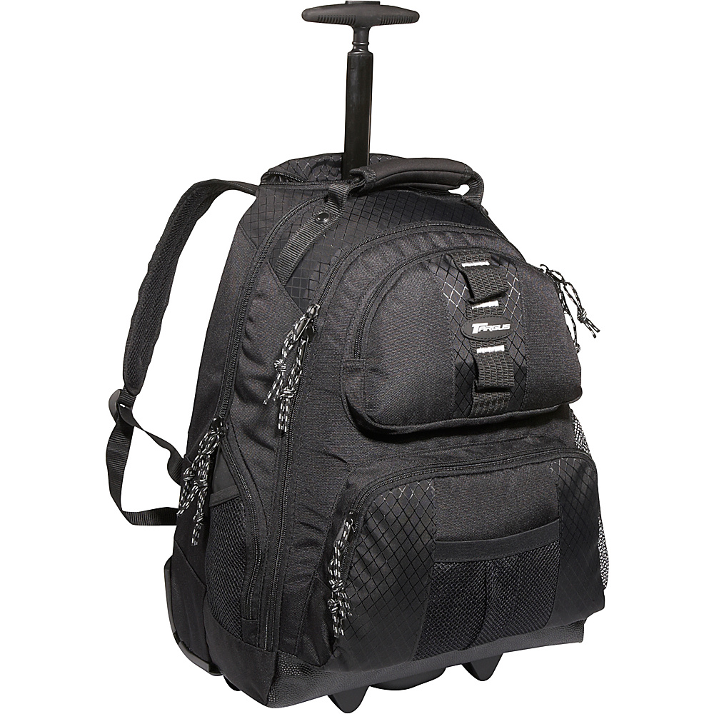 "Targus 15.4"" Rolling Notebook Backpack - Black"