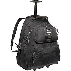 15.4'' Rolling Notebook Backpack Black