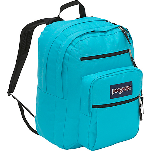 JanSport Big Student Pack Backpack Blinded Blue - Backpacks, School & Day Hiking Backpacks