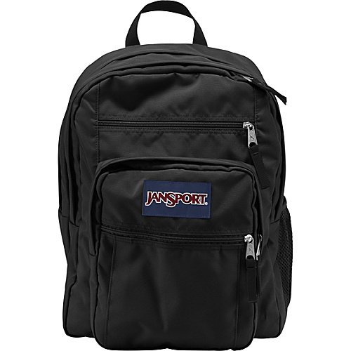 JanSport Big Student Pack Backpack Black - Backpacks, School & Day Hiking Backpacks