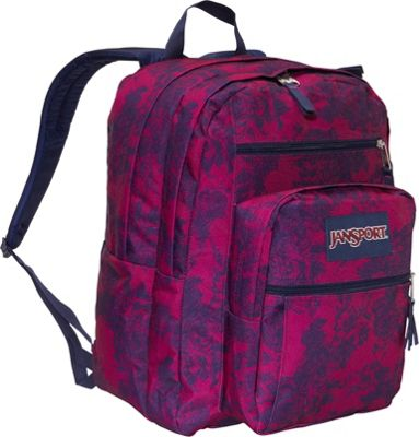 JanSport Big Student Pack : With two large main compartments, a front ...