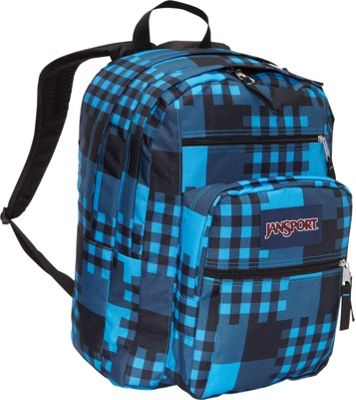 ... Pack Swedish Blue Cross Block - JanSport School & Day Hiking Backpacks