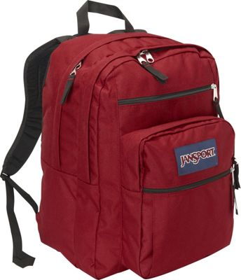 JanSport Big Student Backpack - 17.5 inch Viking Red - JanSport Everyday Backpacks