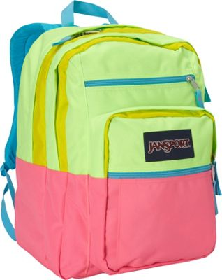 Neon Yellow Jansport Backpack - Crazy Backpacks