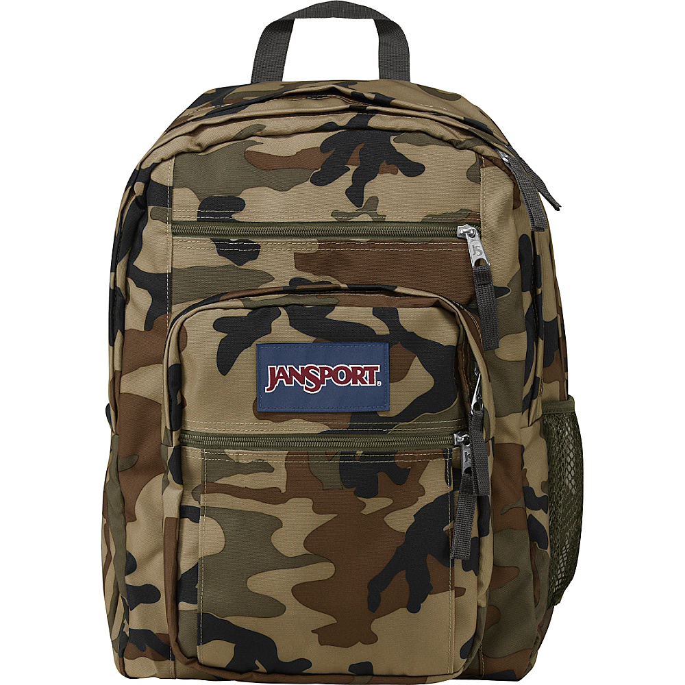 JanSport Big Student Backpack Desert Beige Conflict Camo - JanSport School & Day Hiking Backpacks - Backpacks, School & Day Hiking Backpacks