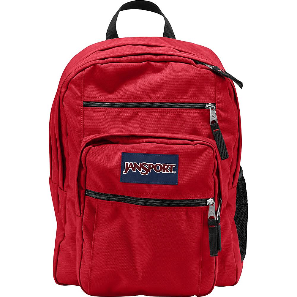 JanSport Big Student Pack - Red Tape - Backpacks, School & Day Hiking Backpacks