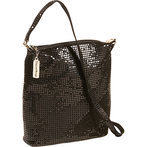 Whiting and Davis Small Hobo With Mesh Strap - Shoulder Bag